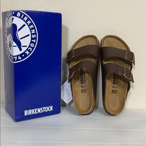Authentic Birkenstock Arizona bs dark brown 38